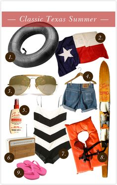 Classic Texas summer and a guide to surviving summer in the south!