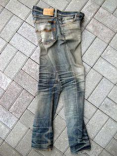 Edwin Jeans, Denim Fashion, Fashion Men, Rocker Look, Denim Shirt Men, Japanese Denim, Nudie Jeans, Jeans Brands, Vintage Denim