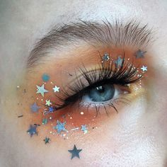 "starry eyes from hannah (@atlantip) on Instagram: ""Venus I have such exciting news!! @glisten_cosmetics and I are coming out with a glitter…"""