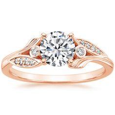 14K Rose Gold Jasmine Diamond Ring from Brilliant Earth
