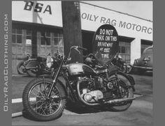 Oily Rag Speed shop advert