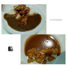 #FD1501 #JapaneseFood  日式咖喱饭里加了泡菜,这该算和食还是韩食呢?