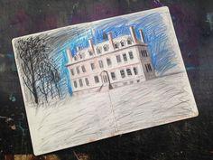 Ed Kluz sketchbook