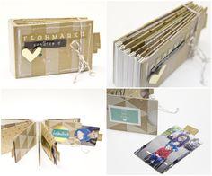Flohmarkt-Schätze Minialbum von Melanie Hoch mit dem #dpNovemberkit14 von www.danipeuss.de