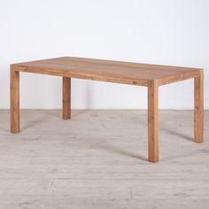 Reclaimed Teak Wood Simple Dining Table