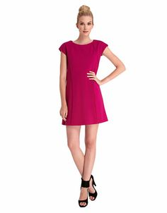 Women's Apparel | Dresses | Solid Short-Sleeve Dress | Lord and Taylor