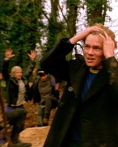 I like that scene in MOPI where guys flips out on Bob's funeral