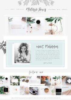 Wordpress website design for creative entrepreneurs, photographers, bloggers. Responsive website for your photography business.