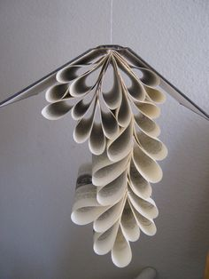 Book mobiles to hang from the ceiling.