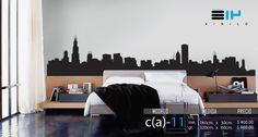 » .. Vinilo 3 14 .. « Vinilos decorativos Skyline, Chicago, Willis Tower, Torre Sears, ciudad, edificios .Calcomanías de Pared. Decoración de muros y superficies lisas. Decoración del Hogar, Restaurantes, Cafeterías y Comercios. Pegatinas, tatuaje mural, rótulo, calca, estampa. www.vinilo314.com