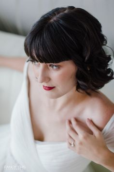 Modern Day Snow White Bridal Portraits. Urban Fairy Tale Bridal Shoot.  #wedding #bridalhair #bridalmakeup #weddinghair #weddingmakeup
