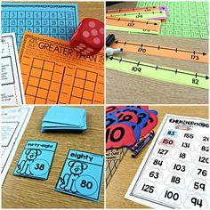 Guided Math- Number Sense to 1200 (and beyond) - , first grade, second grade, number sense to odd and even, Tunstall's Teaching Tidbits Teaching First Grade, Teaching Math, Math Teacher, Teacher Stuff, Teaching Ideas, Math Classroom, Kindergarten Math, Classroom Ideas, Second Grade Math