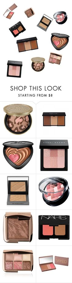 """Fav blush/ bronzer 2015"" by sassyunicorn123 on Polyvore featuring beauty, Too Faced Cosmetics, Bobbi Brown Cosmetics, Burberry, Hourglass Cosmetics, NARS Cosmetics and Urban Decay"