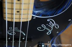 Fender Jazz Bass - 2015 Sandblasted Sapphire blue limited edition (Custom pickguard handmade by Battipenna.it)