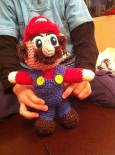 amigurumi Nintendo Mario