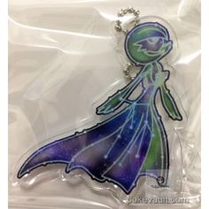 Pokemon Center 2017 Look Upon The Stars Campaign Gardevoir Acrylic Plastic Keychain (Version #3)