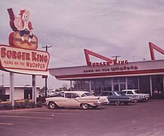 Burger King in the 1970's