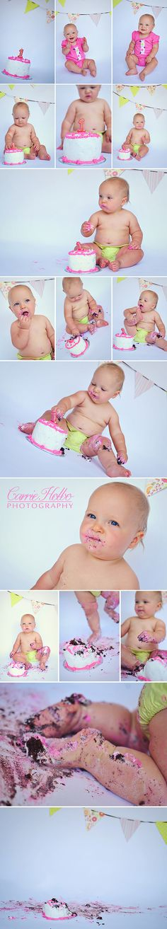 Another adorable cake smash shoot