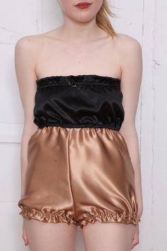 The Dolores Silk Playsuit