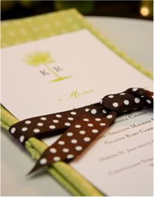 Gotta have the polka dots in the wedding, Tommy <3 s :)