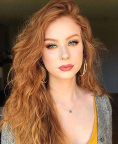 eye makeup for redhead, makeup reds, red hair makeup Rote-Augen-Make-up, rotes Make-up, rotes Haar-Make-up Red Hair Makeup, Redhead Makeup, Eye Makeup, Makeup For Redheads, Makeup For Pale Skin, Wedding Makeup Redhead, Glam Makeup, Hair Color Caramel, Red Hair Color