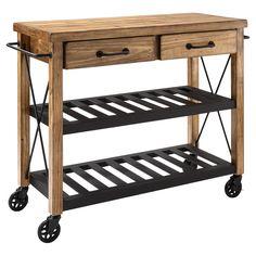 Emmett Kitchen Cart & Reviews | Joss & Main