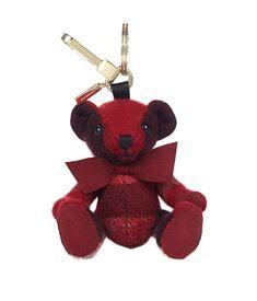 View the Thomas Check Bear Charm Beady Eye, Luggage Straps, Luxury Branding, Burberry, Charmed, Bear, Christmas Ornaments, Holiday Decor, Cute