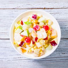 This Filipino Fruit Salad recipe is very popular and Easy To Make dessert not only for home parties but also in big celebrations without cooking involved.