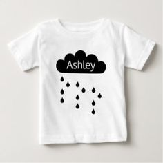 Shop rainy day unisex t-shirt created by BeautifulAndFree. Neutral T Shirts, Stylish Baby, Baby Shirts, Basic Colors, Cool Kids, Baby Kids, Unisex, Mens Tops, Shopping