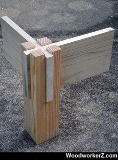 Beautiful wood joinery