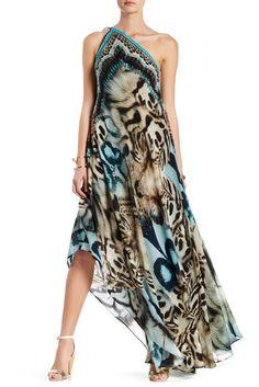 Shahida Parides Convertible Print Hi-Lo Maxi Dress Simple Dresses, Casual Dresses, Fashion Dresses, Summer Dresses, Scarf Dress, Diy Dress, Dress Tutorials, Dress First, Nordstrom Dresses