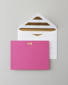 Kate Spade Note Cards #bow