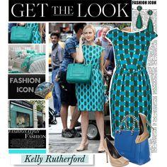 """Kelly Rutherford"" by marikamoshar on Polyvore"