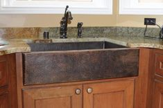 55 Cool Rustic Kitchen Sink