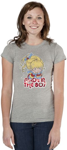 Made in the 80s Rainbow Brite Shirt By Junk Food