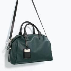 ZARA - WOMAN - SOFT BOWLING BAG