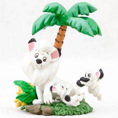 Tezuka Osamu Mini Vignette Diorama Figure Jungle Emperor LEO JAPAN ANIME MANGA