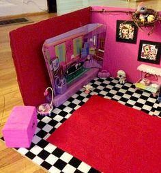 DIY Littlest Pet shop House