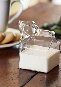 Glass Carton for Milk + Cream