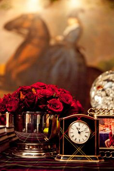 clocks and tartan - 2 loves together English Country Manor, English House, English Style, English Countryside, Paris Appartment, Raindrops And Roses, Merry Christmas To You, Christmas 2015, Christmas Colors