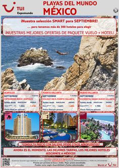 ¡Selección SMART para Acapulco y Pto.Vallarta! Septiembre. Vuelo+Hotel 7 noches. Precio desde 1.410€ ultimo minuto - http://zocotours.com/seleccion-smart-para-acapulco-y-pto-vallarta-septiembre-vuelohotel-7-noches-precio-desde-1-410e-ultimo-minuto/