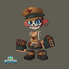 """100 Likes, 12 Comments - SkySaga (@skysaga) on Instagram: """"Express yourself! We can't wait to see this outfit on the Infinite Isles with Beta."""""""