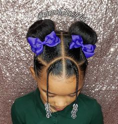 70 Braided Hairstyles for Winter 2018 - Hairstyles Trends Black Kids Hairstyles, Cute Little Girl Hairstyles, Little Girl Braids, Baby Girl Hairstyles, Natural Hairstyles For Kids, Kids Braided Hairstyles, Braids For Kids, Girls Braids, Natural Hair Styles