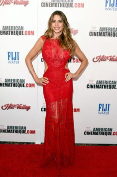 Actress Sofia Vergara attends the 29th American Cinematheque Award honoring Reese Witherspoon at the Hyatt Regency Century Plaza on October 30, 2015 in Los Angeles, California.