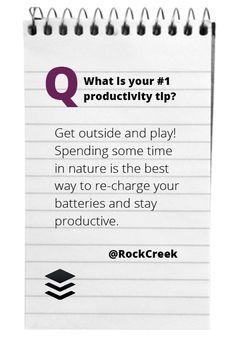 Great advice from @Stephanie Clark