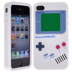 Awesome iPhone 4 case, inspired by the original gameboy