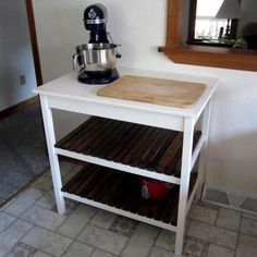 DIY Furniture : DIY Simple Kitchen Island