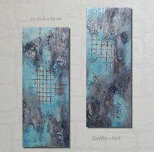 SoMa-Art  Acrylbilder  Wanddeko Direkt vom Künstler Verbundenheit Blau