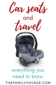 Should you bring a travel car seat for your trip? What's the best portable car seat? Find everything you need to know about how to travel with car seat here Toddler Travel, Travel With Kids, Family Travel, Portable Car Seat, Travel Car Seat, Packing Tips For Travel, Travel Info, Travel Advice, Travel Guide