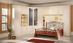 Camere da letto matrimoniali a ponte - Elegante camera da letto